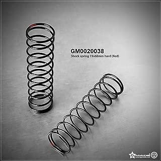 Gmade 0020038 19x68mm Shock Spring, Hard Red