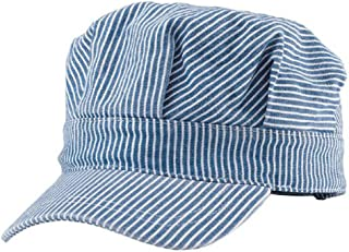 vintage train conductor hat