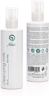 Nuvo Baba de caracol Leche limpiadora facial Orgánico Certificado AIAB con ácido hialurónico Extracto de caléndula Vitami...