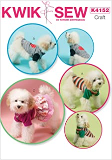 KWIK-SEW PATTERNS K4152 Dog Clothes