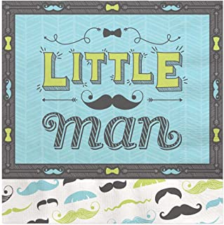 Big Dot of Happiness Dashing Little Man Mustache Party - Luncheon Napkin (16 Count)