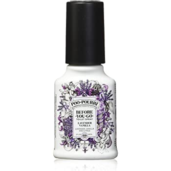 PooPourri Before You Go Spray, Lavender Vanilla, 2 Count of 2 Fl Oz Bottle, 4 Fl Oz
