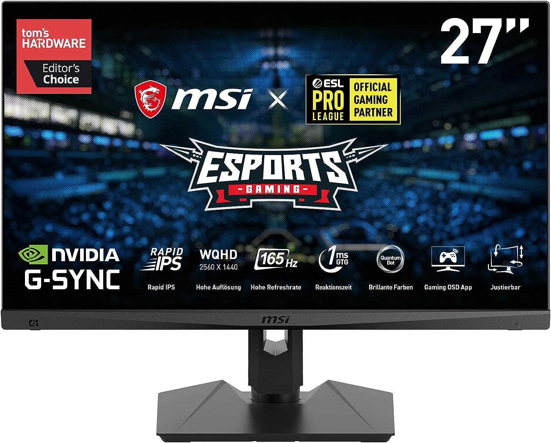 MSI Optix MAG274QRFDE-QD - Monitor para Gaming (69 cm/27