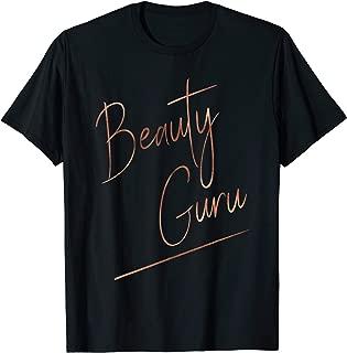 Beauty Guru Ombre Handwriting Tee - Gift for Makeup Artist