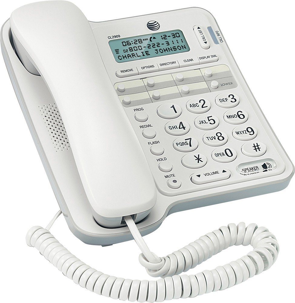 AT CL2909 One Line Corded Speakerphone