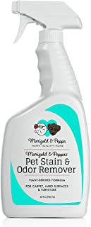Marigold & Peppa | Professional Strength Stain and Odor Eliminator | Pet Urine Remover | Carpet Cleaner Deodorizer | Enzyme Powered | Safe for Pets and Kids |