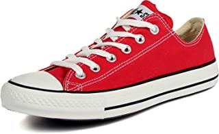 Converse Unisex Chuck Taylor All Star Ox Low Top Classic Red Sneakers - 7 D(M) US