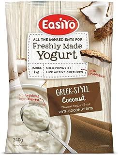 Easiyo Greek and Coconut Premium Yoghurt Mix 240gram