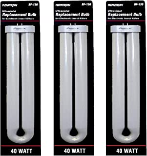 Flowtron BF-130 40 Watt U-Shape Replacement Bulb for FC7800 & FC8800 Models (Pack of 3)