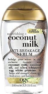 OGX Hair Serum, Nourishing+ Coconut Milk, Anti-Breakage, 100 ml