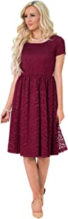 Best modest burgundy bridesmaid dresses Reviews