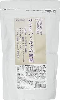ペットフレンド 国産粉ミルク やさしいミルクの時間 シニア犬用 270g