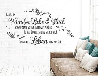 Wandtattoo Shopping Queen mit Kristallen Wandtattoo Wohnzimmer Frauen pkm460