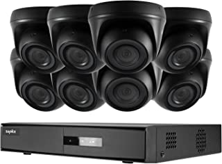 SANNCE 8CH Security Camera System 5-in-1 1080N Hybid Realtime CCTV DVR Recorder w/ 8 x 1080P HD-TVI Weatherproof Night Vis...