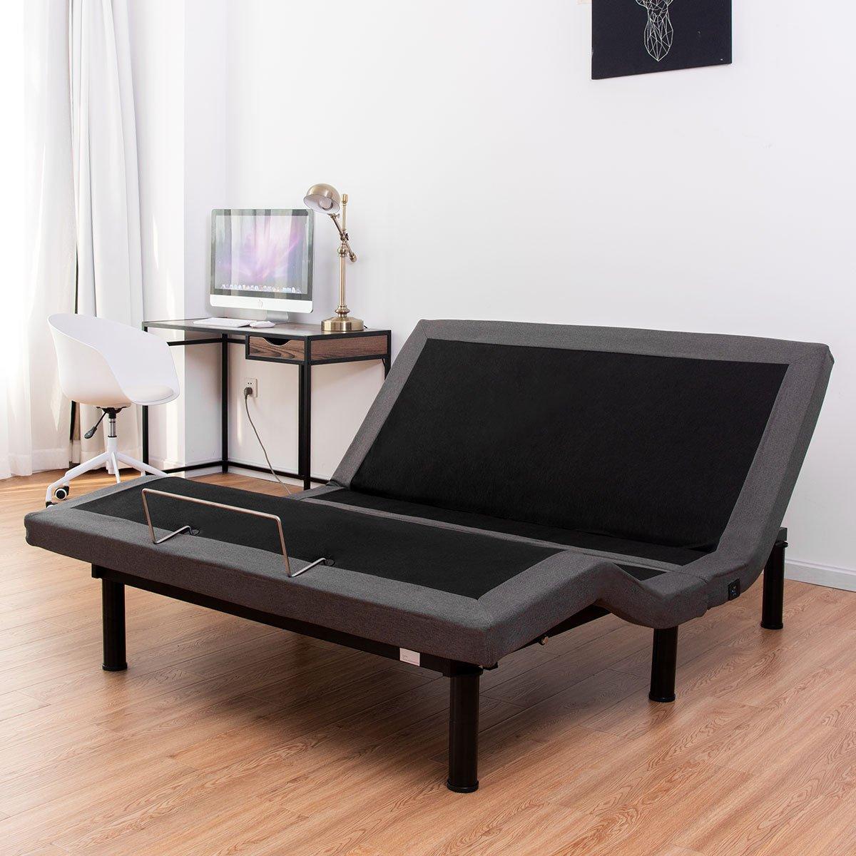 Giantex Adjustable Upholstered Anti Snore Emergency