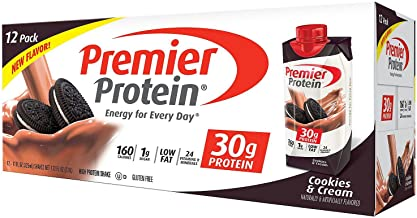 Best premier protein cookies and cream protein shake Reviews