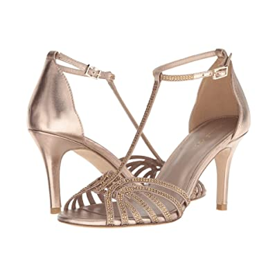 Pelle Moda Rochell (Platinum Gold Satin) High Heels