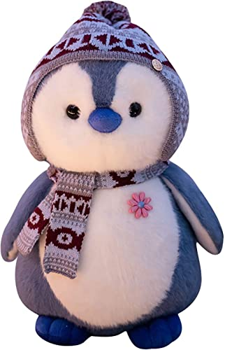 """wholesale Penguin Doll Plush Toy with Scarf and Hat Stuffed Animal Toy popular Cute Plush Baby Penguin Stuffed Animal Doll Stuffed Penguin Home Ornament Decoration, high quality 7.8"""" online"""