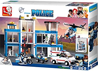 Sluban Police Headquarters, 606 Pcs, M38-B0660