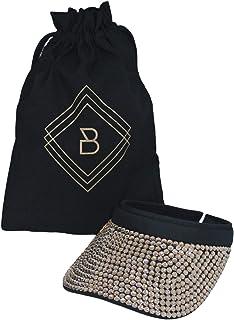Bling Sun Visor hat for Women Visors for Women Wide Brim UV Protection Ladies Golf Hat Tennis Visor Running Sport Beach ha...