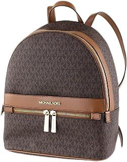 حقيبة ظهر مايكل كورس Kenly بنية اللون من مادة PVC