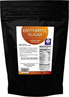 MD. Life Erythritol Sweetener 12oz Non GMO - Keto Friendly – Organic All Natural Sugar Substitute –Low Carb Dieters - Made...