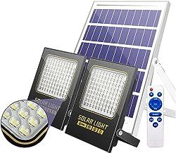 Zonne-overstroming lichten buiten bewegingssensor 800W 1200W 1600W waterdicht, zonne-schijnwerpers buiten tuin heldering v...