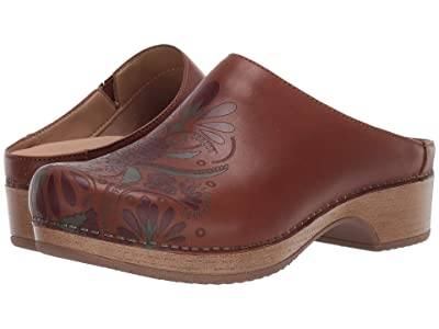 Dansko Brenda (Tan Waxy Burnished) Women
