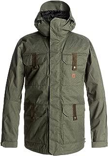 DC Men's Servo 15k Water Proof Snowboard Jacket, Beetle, XL