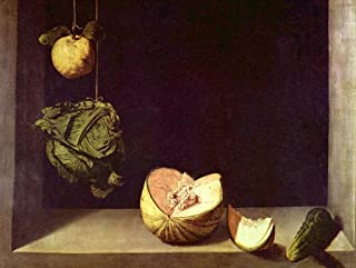 Lais Jigsaw Fra Juan Sánchez Cotán - Still Life with Quince, Cabbage, Melon and Cucumber 100 Pieces