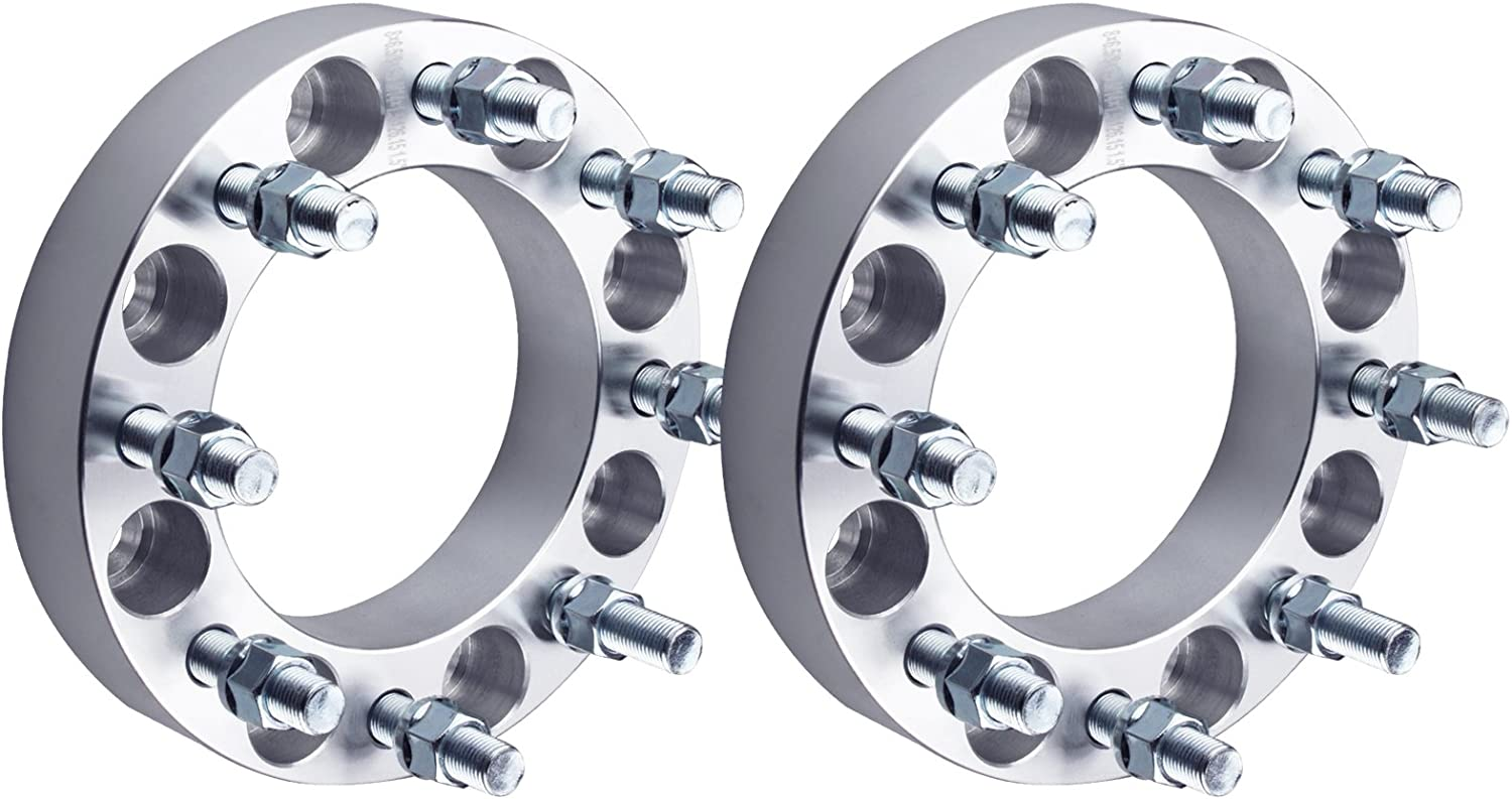DCVAMOUS 8x6.5 Wheel Spacers Fees free 1.5 Inch Safety and trust Compatible Chevy-GMC with
