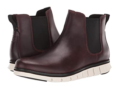 Cole Haan Zerogrand Chelsea WP (Waterproof CH Chestnut Leather/Ivory) Men