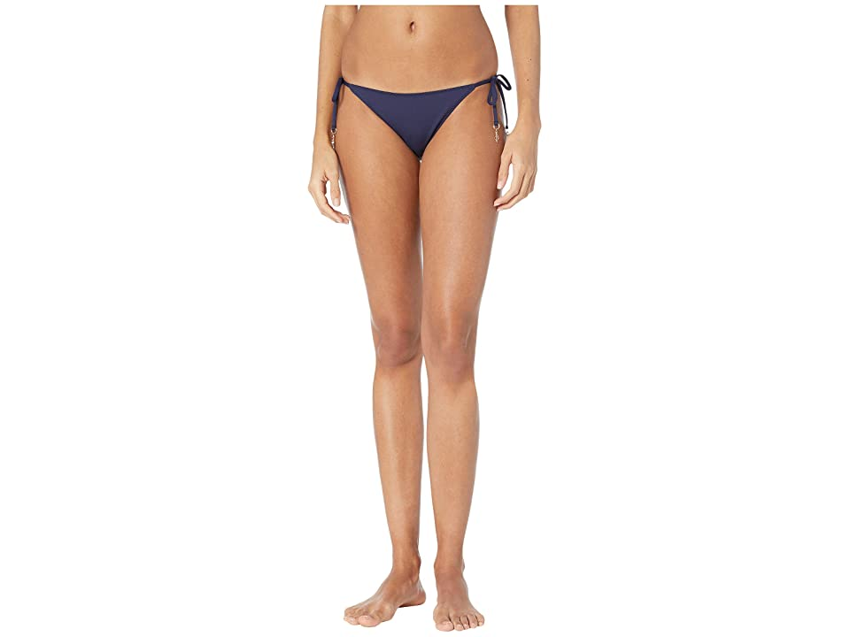 Stella McCartney Timeless Basic Tie Side Bikini Bottoms (Blue) Women