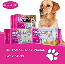 SENYE PET Disposable Dog Diapers Female Wraps