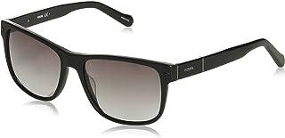 Fossil Unisex Adults' FOS 2050/S Sunglasses, Multicolour (MTBLK SHN), 55