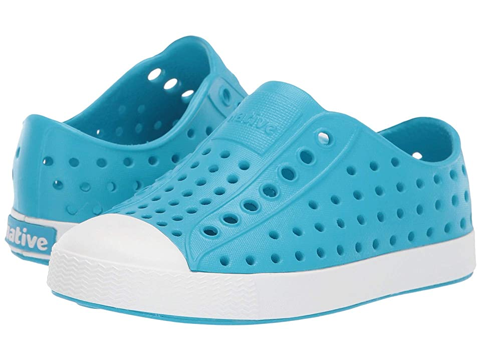 Native Kids Shoes Jefferson (Toddler/Little Kid) (Ultra Blue/Shell White) Kids Shoes