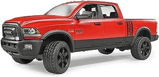 Bruder 02500 ABSsynthetics vehículo de Juguete - Vehículos de Juguete (ABSsynthetics, Negro, Rojo, 3 año(s), 1:16, Interior / Exterior, 170 mm)