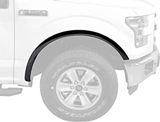 No Factory Flares WZ58308 QAA fits 2018-2020 Ford F-150 4 Piece Molded Stainless Steel Wheel Well Fender Trim Molding