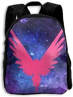 Logan Paul Logo Maverick Pink Children Casual School Bag Backpack Book Bag For Boys Girls