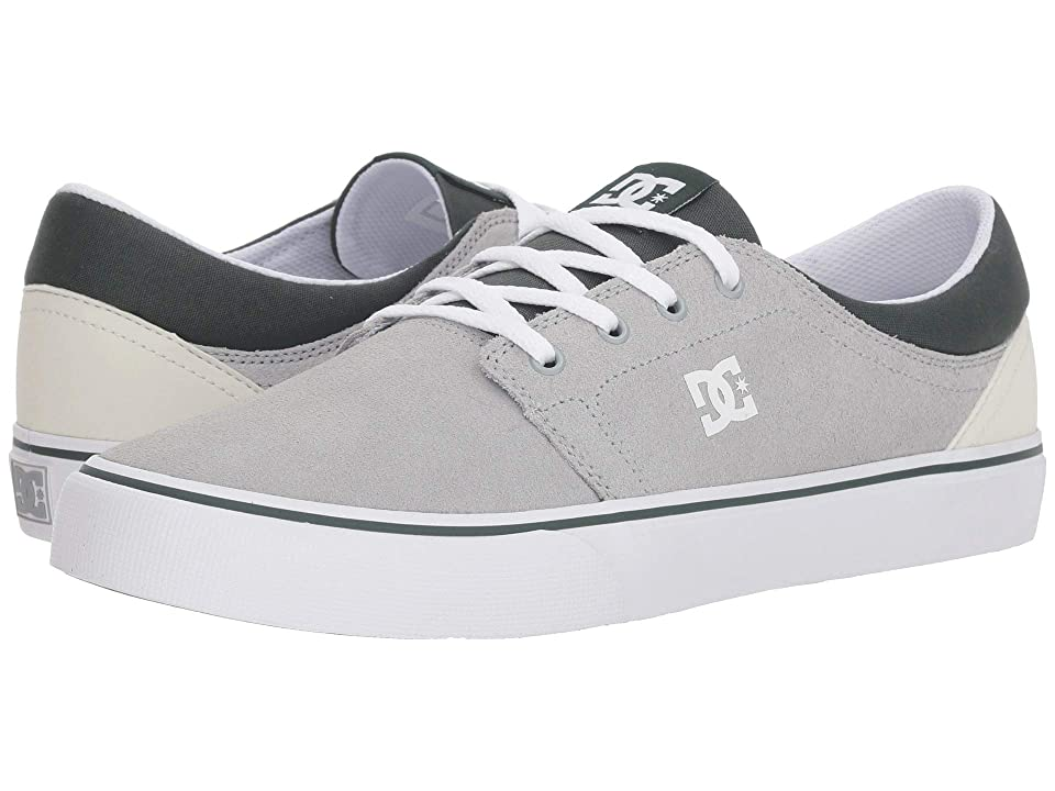 DC Trase SD (Grey/Grey/Green) Skate Shoes