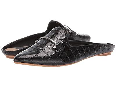 Dolce Vita Gram (Black Croco Embossed Leather) Women