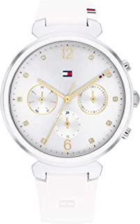 TOMMY HILFIGER IVY WOMEN's WHITE DIAL WATCH - 1782342