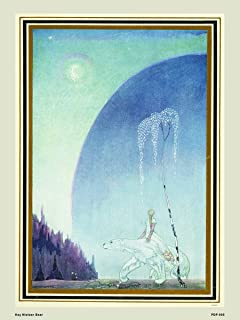 OnTheWall Kay Nielsen East of The Sun West of The Moon Fairytale Bear Natural History 30x40cm Art Poster Print