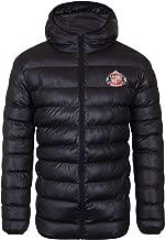 Sunderland AFC Official Soccer Gift Mens Quilted Hooded Winter Jacket