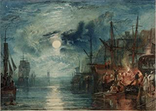 Gifts Delight Laminated 21x15 Poster: Joseph Mallord William Turner - Chronology J.M.W. Turner Sketchbooks, Drawings and Watercolours Tate