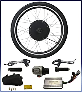 "Auto Express 36V 500W Electric Bicycle Motor Conversion Kit 26"" Ebike Cycling Rear Wheel Hub"