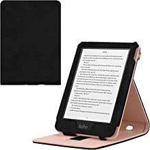 Kobo Clara HD Case - Ratesell Slim Folding Stand Folio Cover Case for Kobo Clara HD Tablet with with Auto Wake/Sleep & Multiple Viewing Angles Black