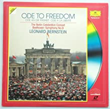 Ode To Freedom ~ Ode An Die Freiheit ~ Ode A La Liberte / The Berlin Celebration Concert, Beethoven, Symphony No. 9, Leonard Bernstein [Laser Disc]