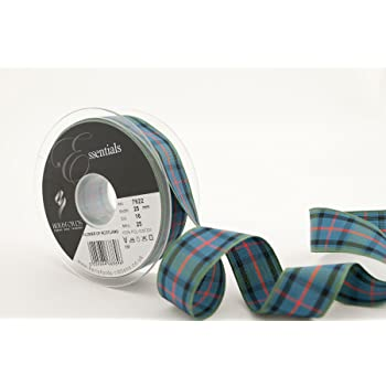Berisfords Scottish Approved Tartan Ribbon 7 10 16 MM Widths Sewing//Crafts