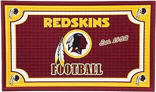 Team Sports America 41EM3831 Embossed Door Mat, Washington Redskins